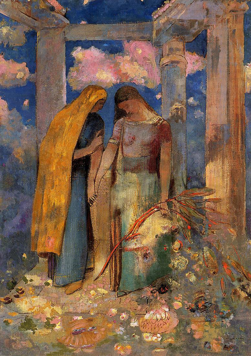 Odilon Redon, Mystical Conversation - The Culturium