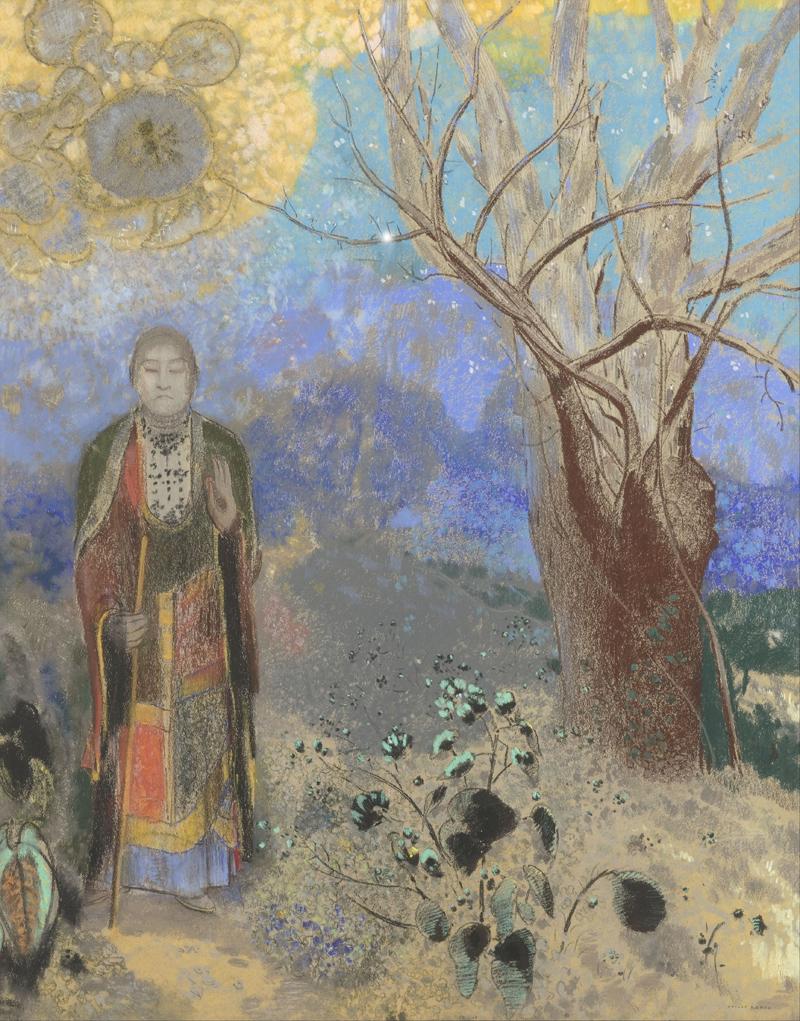 Odilon Redon, Buddha - The Culturium