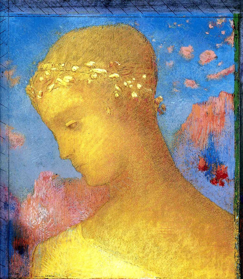 Odilon Redon, Beatrice - The Culturium