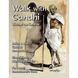 Masood Hussain & Gabriel Rosenstock, Walk With Gandhi - The Culturium
