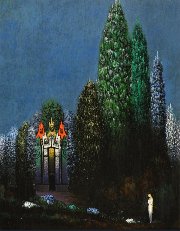 Boleslaw Biegas, Chateau des trésors - The Culturium