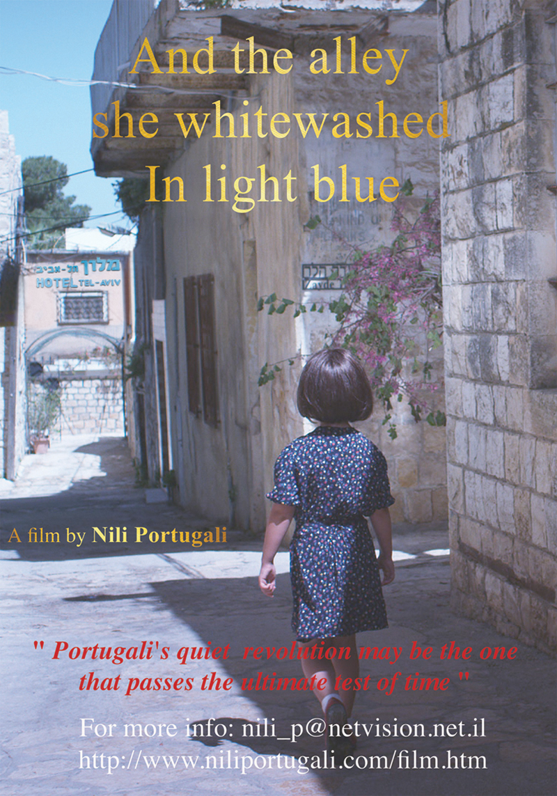 Nili Portugali, And the Alley She Whitewashed in Light Blue - The Culturium