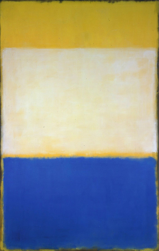 Mark Rothko, No. 6 (Yellow, White, Blue Over Yellow on Grey) - The Culturium