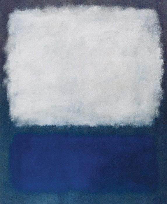 Mark Rothko, Blue and Grey - The Culturium