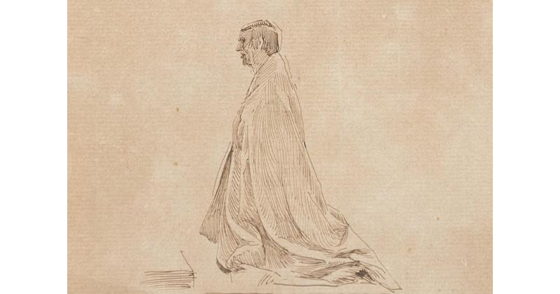 Cesare Maccari, Study of Figure - The Culturium