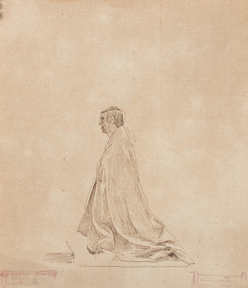 Cesare Maccari, Study of Figure - The Culturium