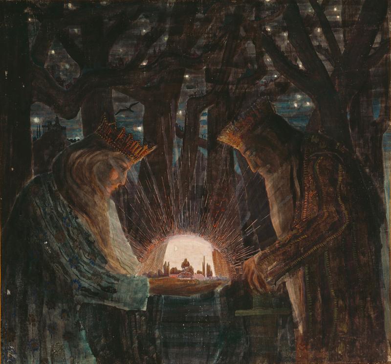 Mikalojus Konstantinas Čiurlionis, Fairy Tale - The Culturium
