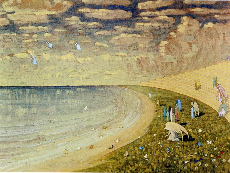 Mikalojus Konstantinas Čiurlionis, Paradise - The Culturium