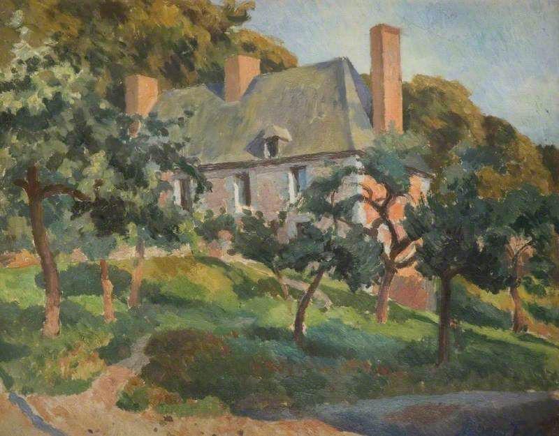 Roger Fry, A Surrey House - The Culturium