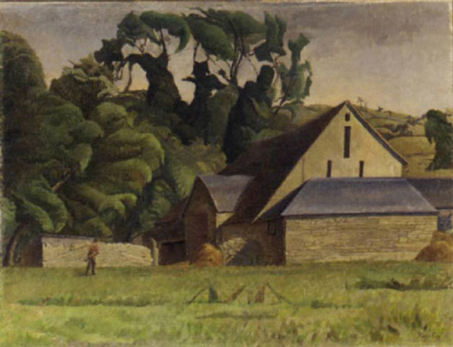 Roger Fry, Barn in Sussex - The Culturium