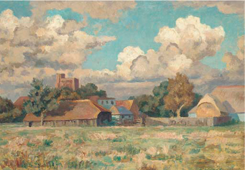 Roger Fry, September in Sussex - The Culturium