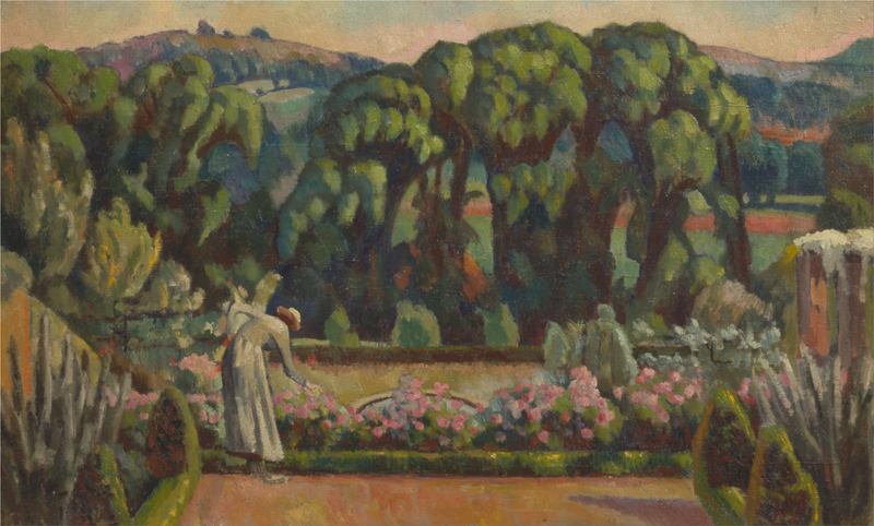 Roger Fry, The Artist's Garden at Durbins, Guildford - The Culturium