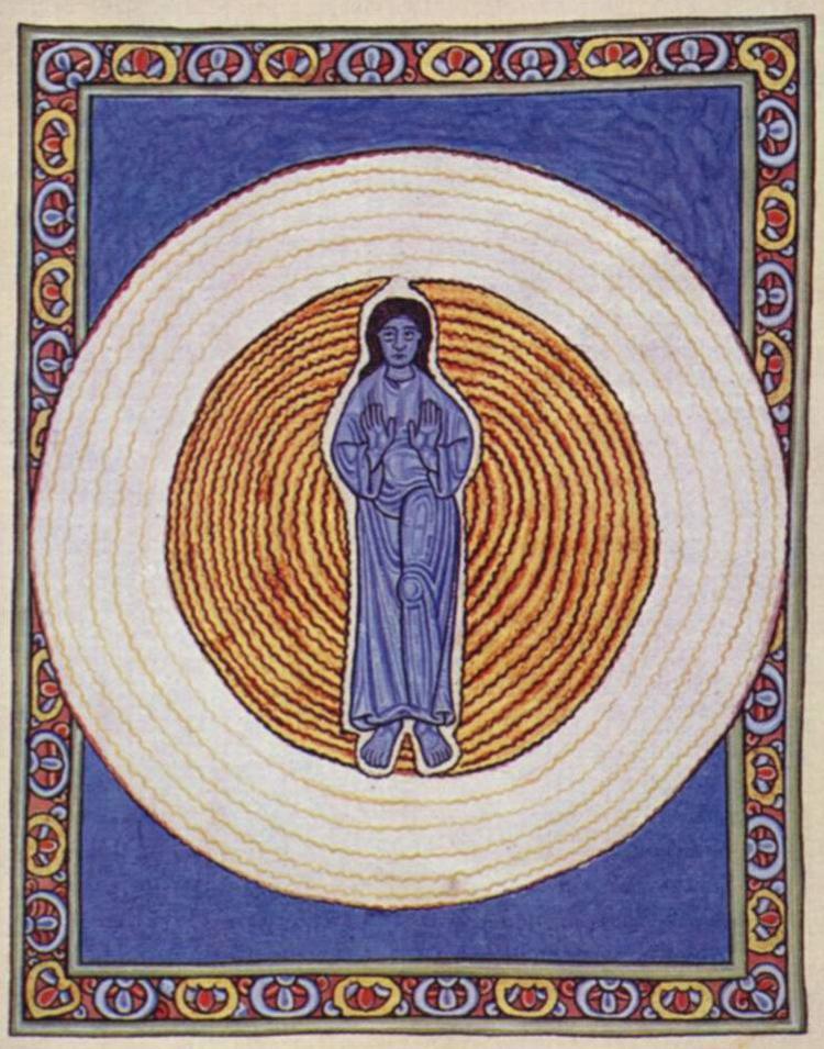 Hildegard of Bingen, 'Scivias: The Trinity' - The Culturium