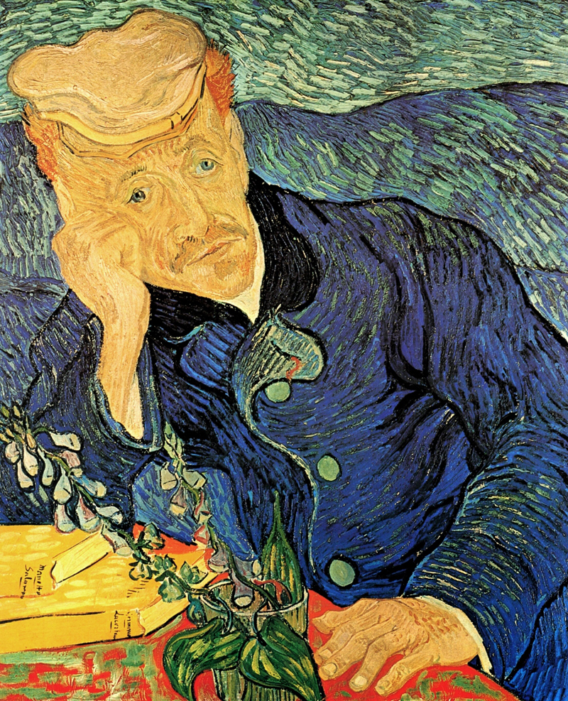 Vincent van Gogh, Dr Paul Gachet - The Culturium