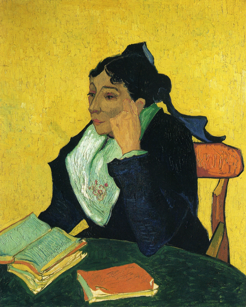 Vincent van Gogh, L'Arlesienne, Portrait of Madame Ginoux - The Culturium