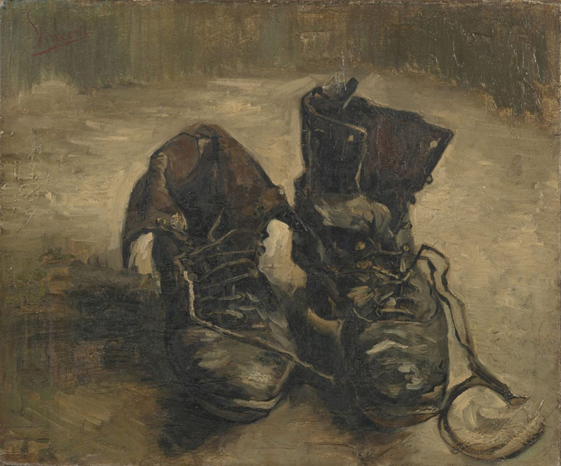 Vincent van Gogh, Shoes - The Culturium
