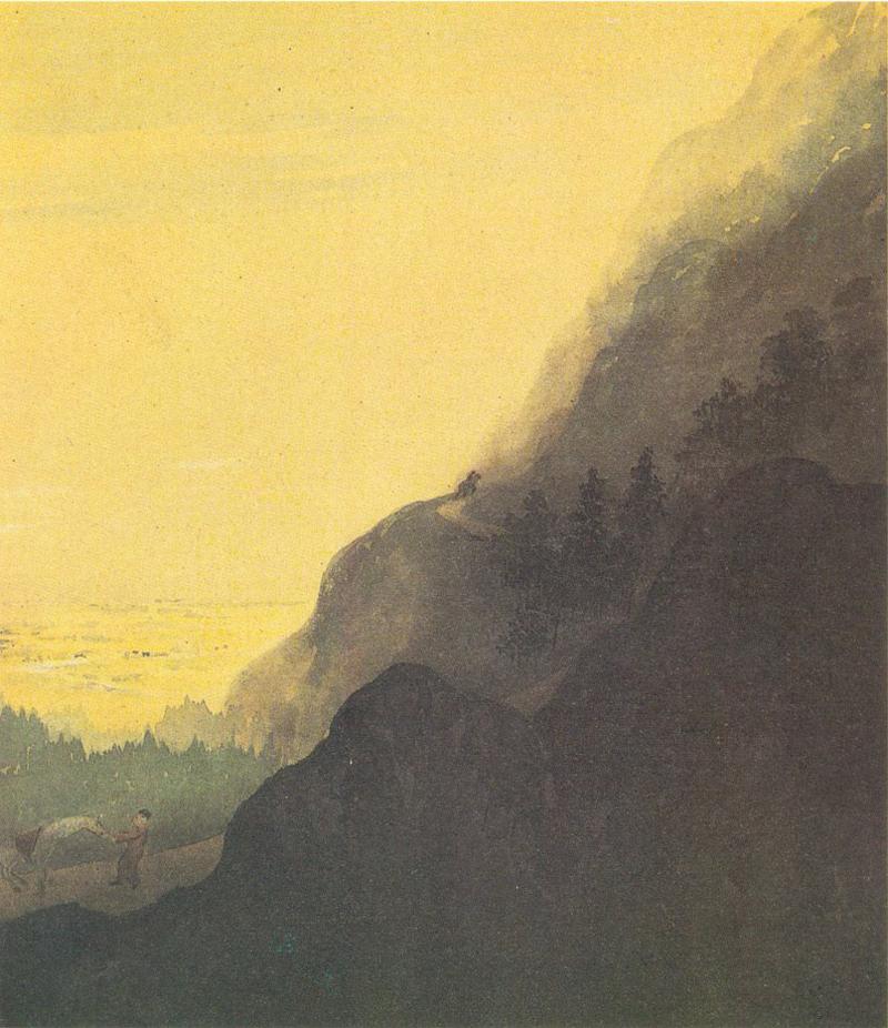 Gaganendranath Tagore, Ascending Himalayas - The Culturium
