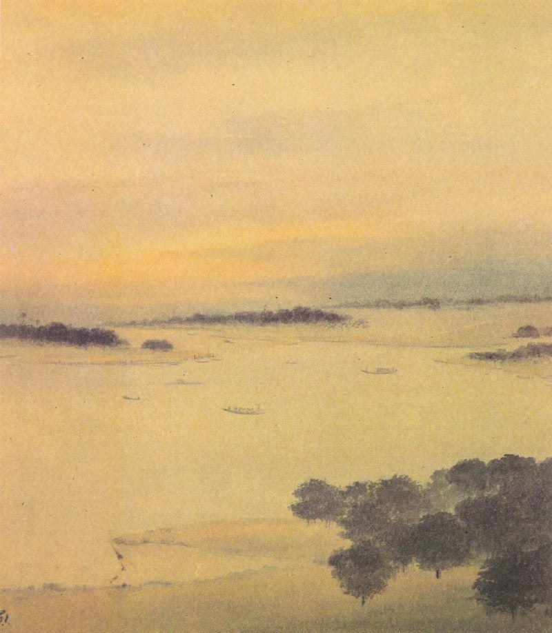 Gaganendranath Tagore, Bengal Landscape - The Culturium