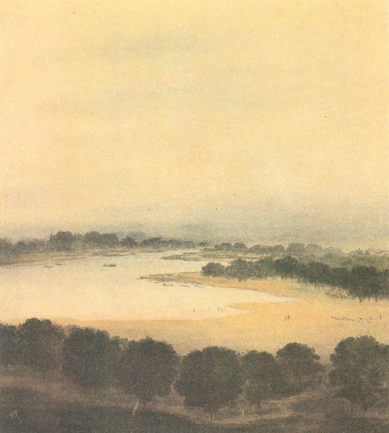 Gaganendranath Tagore, River View - The Culturium