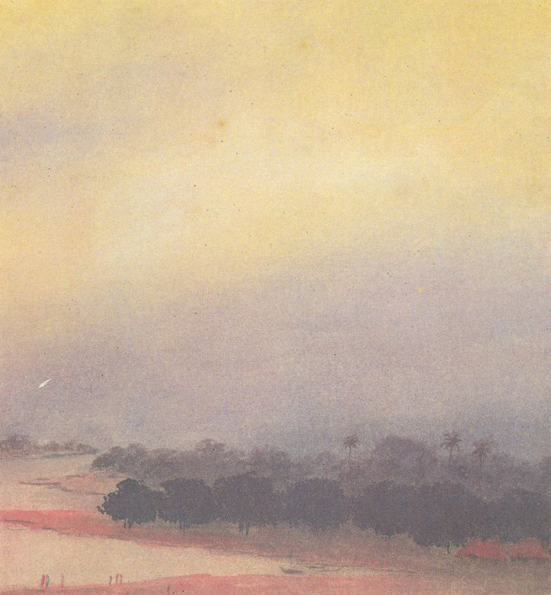 Gaganendranath Tagore, Trees - The Culturium