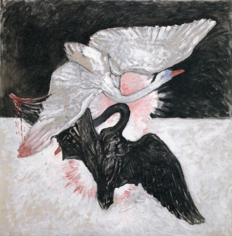 Hilma af Klint, The Swan - The Culturium