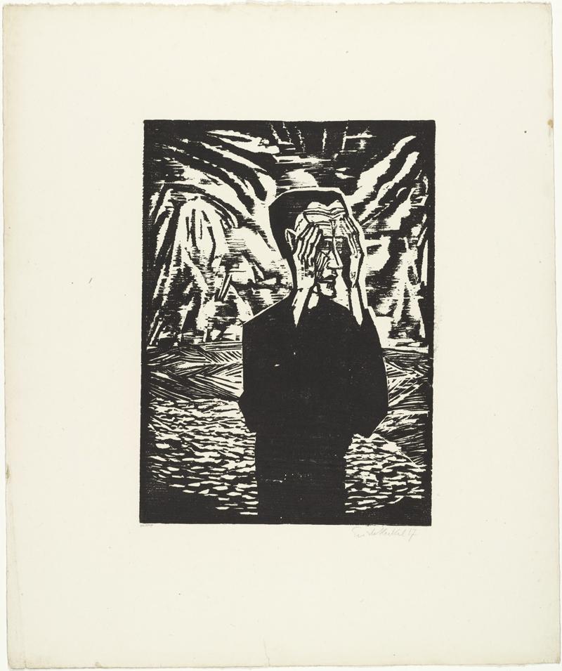 Erich Heckel, Man on a Plain - The Culturium
