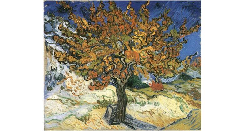 Vincent van Gogh, Mulberry Tree - The Culturium