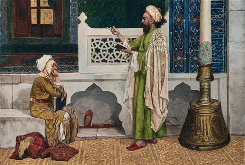 Osman Hamdi Bey, Qur'an Instruction - The Culturium
