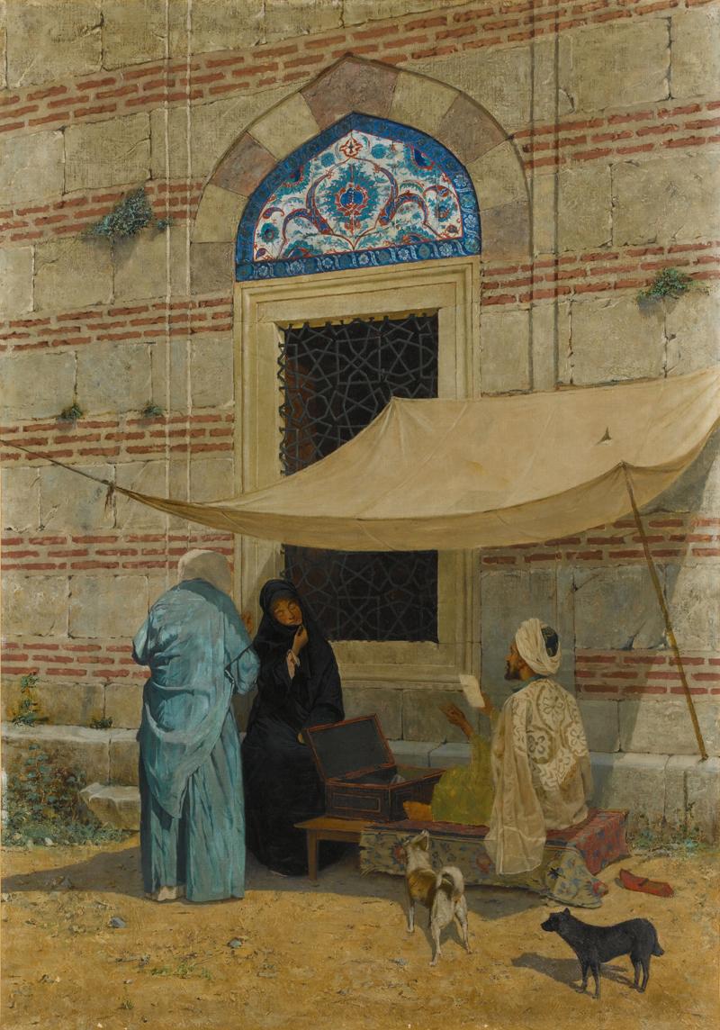 Osman Hamdi Bey, The Petitioner - The Culturium